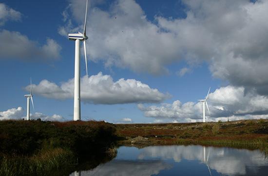 Wind turbine at Meenadreen