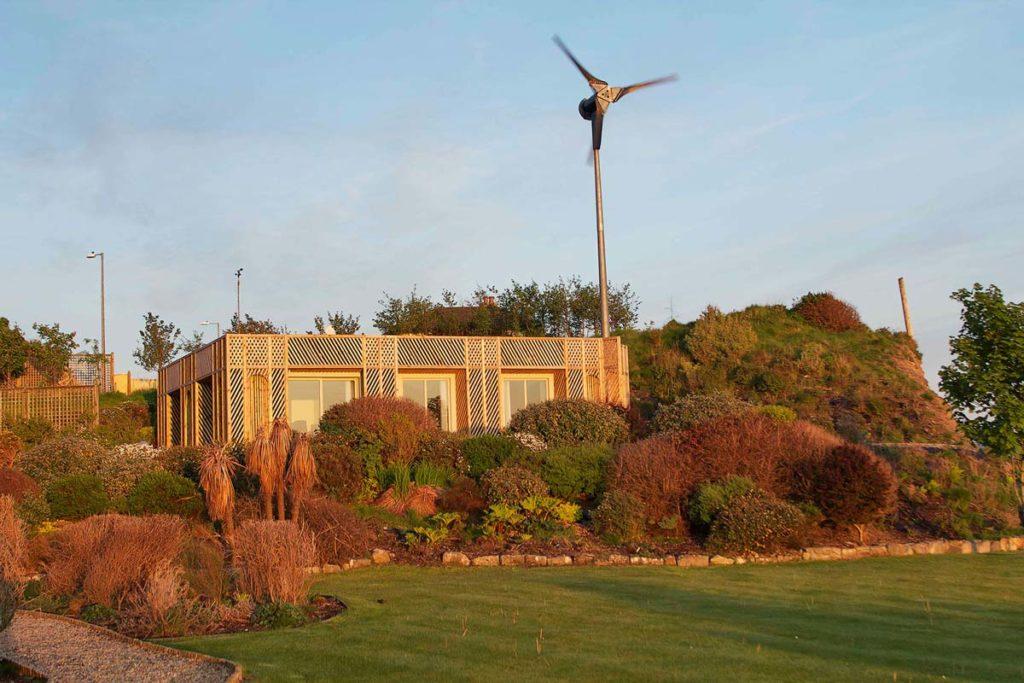 Home installation wind turbine